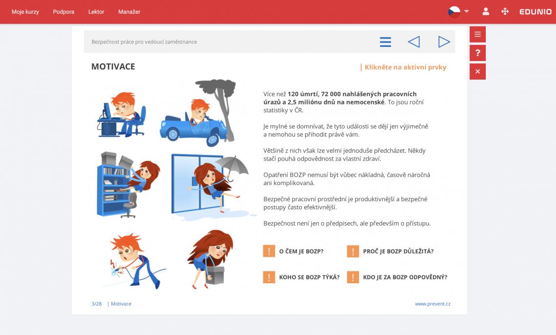 Online školení pro zaměstnance veřejného sektoru